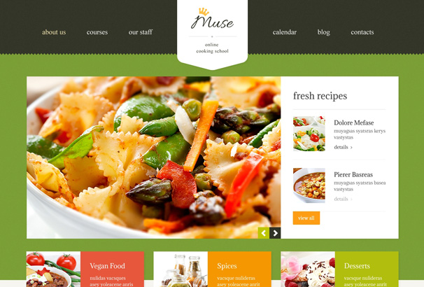 40 best wordpress food themes 2017 food blogs recipes 3 forumfinder Gallery