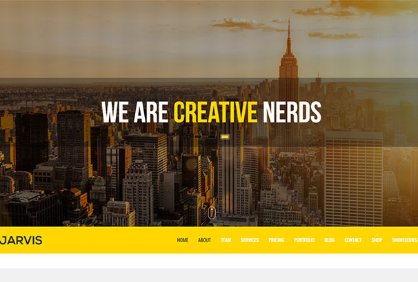 10 themeforest Jarvis