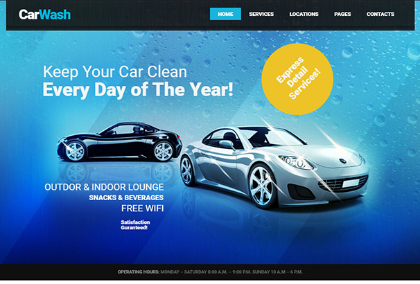 102 themeforest Car Wash