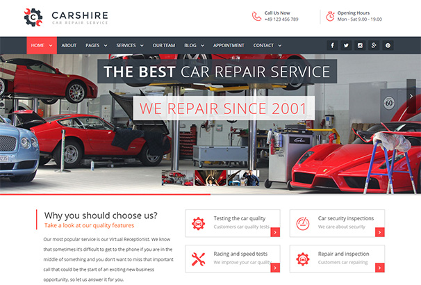 103 Themeforest Car Shire