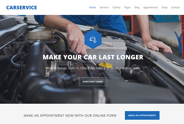 106 themeforest Car service