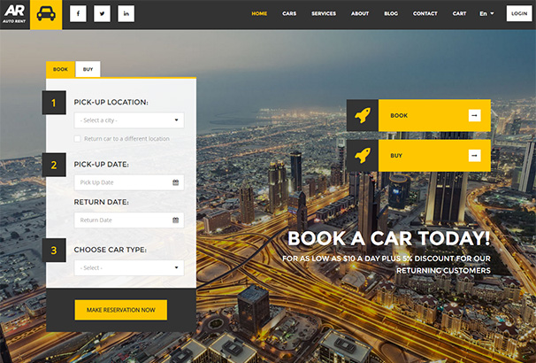 108 themeforest AutoRent