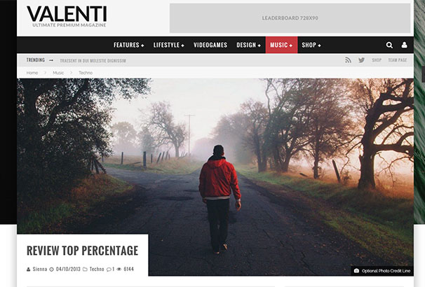 11 themeforest Valenti