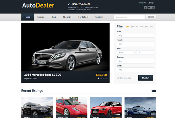 112 themeforesst Auto Dealer