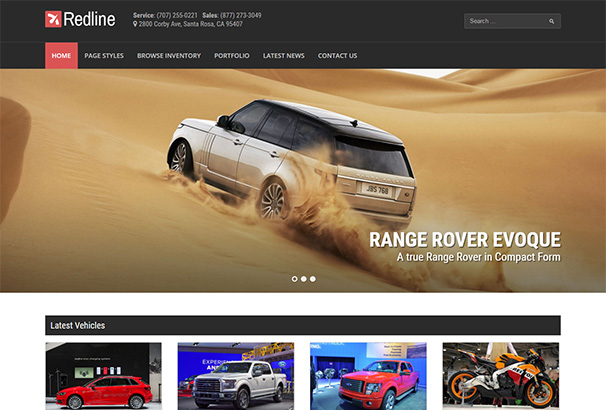 121 themeforest Redline