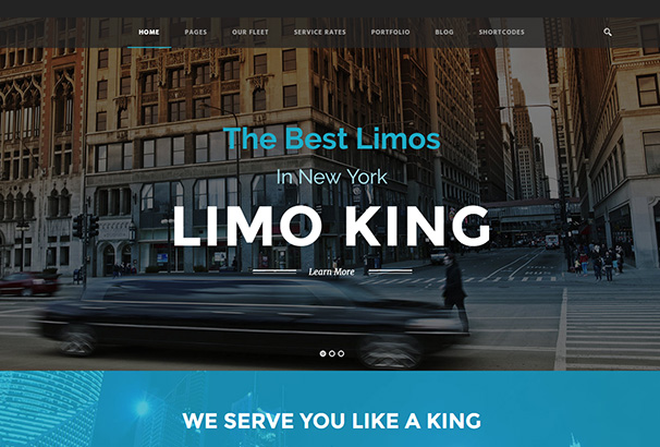 124 themeforest Limo King