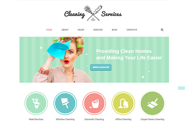 16 themeforest cleaning services