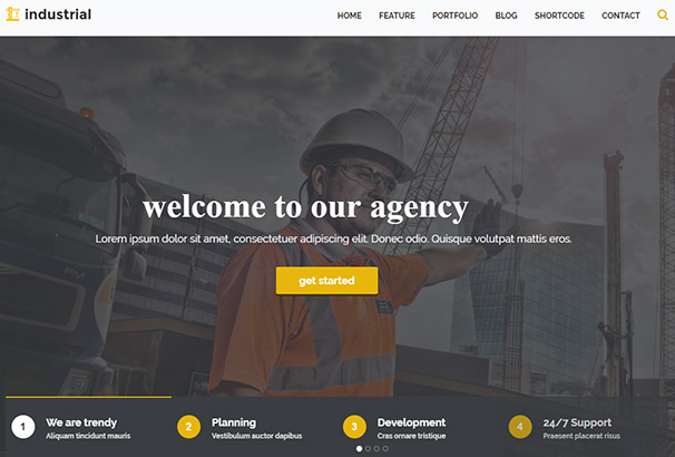 18 themeforest Industrial