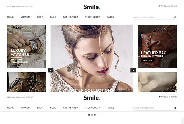 18 themeforest Smile