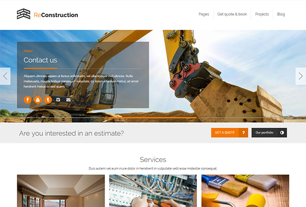 21 themeforest Reconstruction