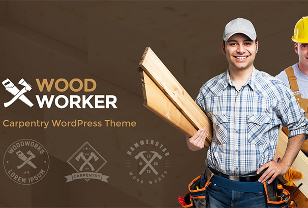 22 themeforest WoodWorker
