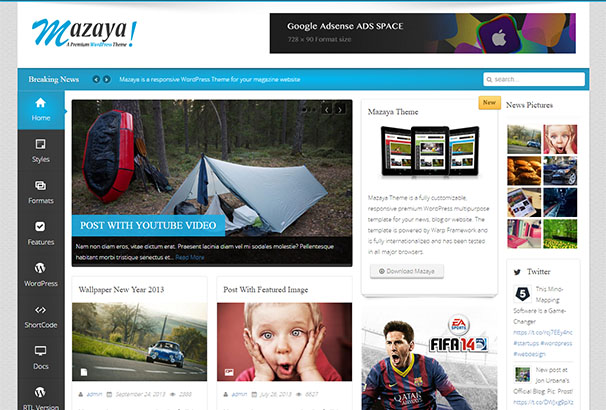 23 themeforest Mazaya
