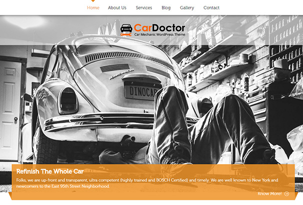 3 Ink themes Car Doctor