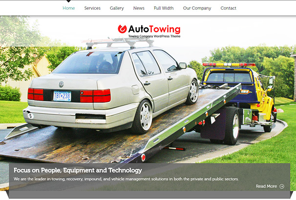 4 Ink themes Auto towing