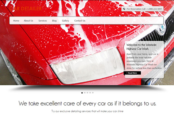 5 ink themes car detailer