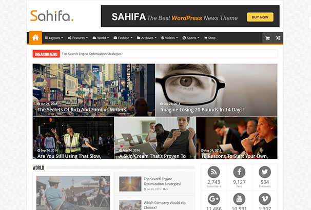 5 themeforest Sahifa