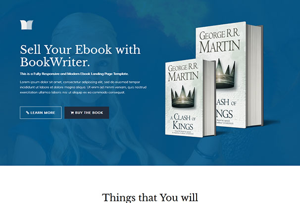 70 best wordpress themes for writers authors 2017 1 fandeluxe Image collections