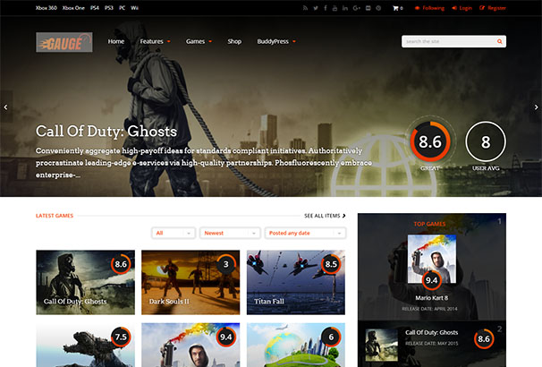 themeforest 12 Guage