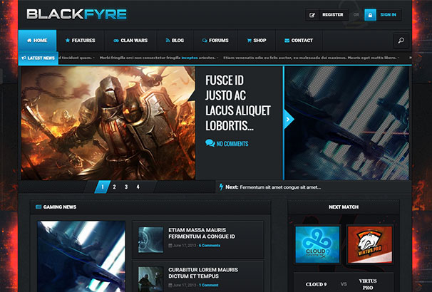 themeforest 13 Blackfyre