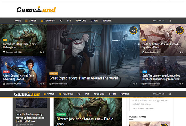 themeforest 15 GamesLand