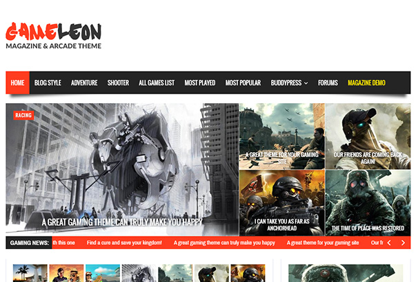 themeforest 6 Gameleon