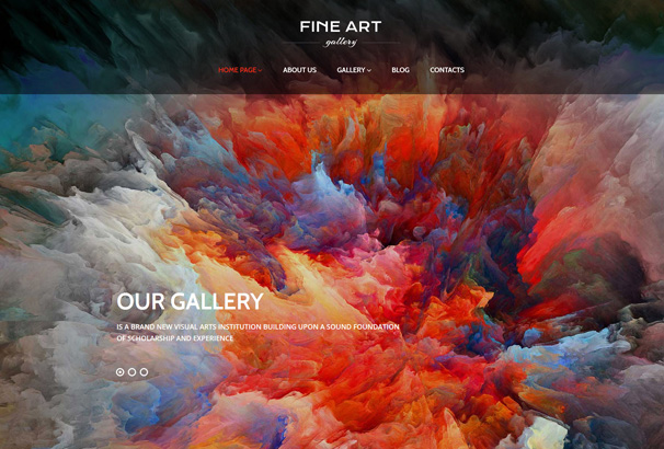60+ Best WordPress Themes for Artists 2017