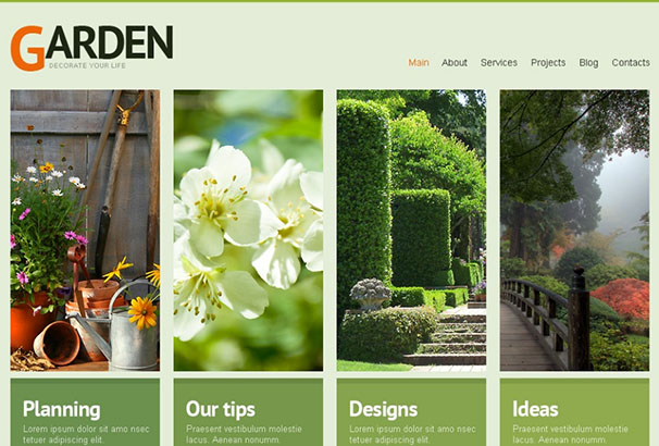 TM Themes 5 Garden Design