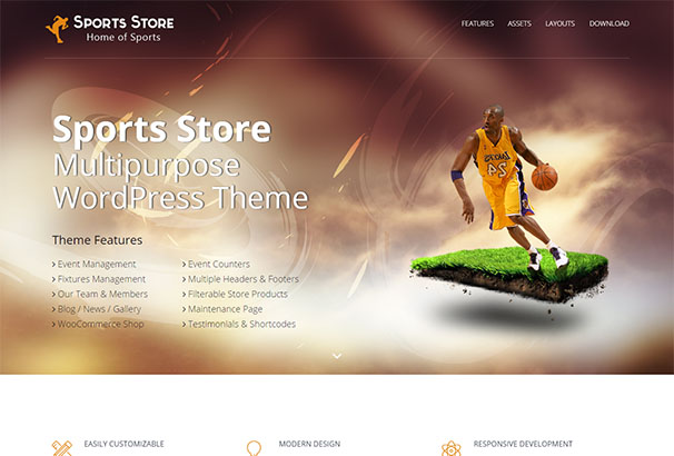 Theme Forest 13 Sports Store