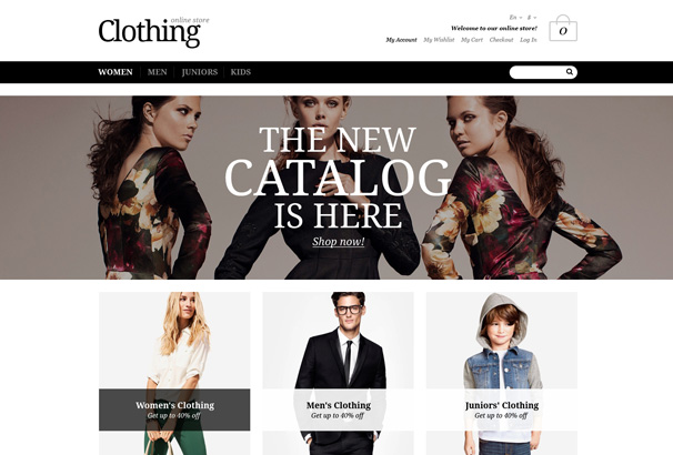 50 best magento fashion themes for online stores 2017 for Wordpress t shirt store theme free
