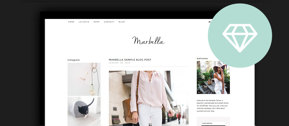 50 Best Beauty Fashion Lifestyle Blog Wordpress Themes 2017