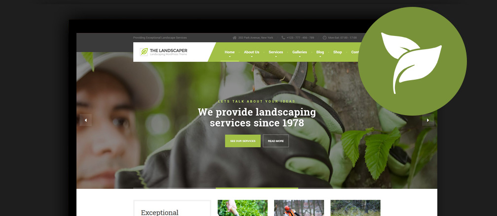 WordPress Gardening Themes