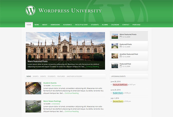 TF 8 WordPress University