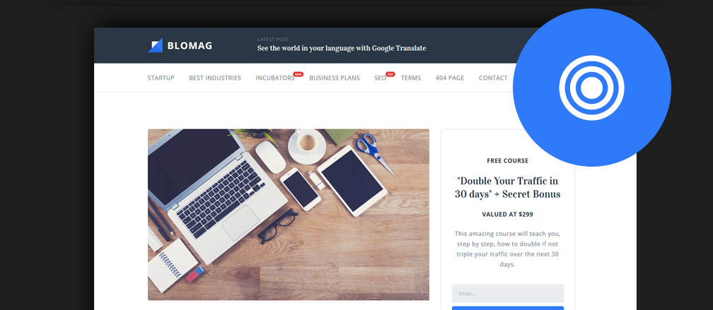 Personal Brand Blog WordPress Themes