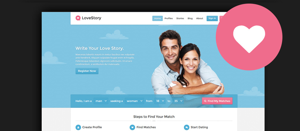 Best wordpress theme for dating site