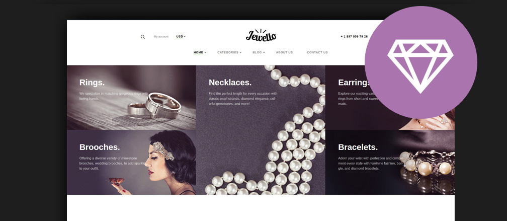 Best Jewelry WordPress Themes