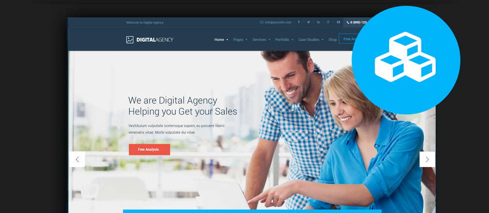 IT Company & Tech Business WordPress Themes