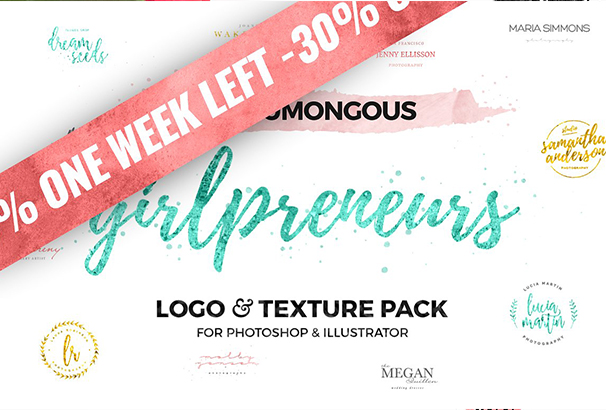 30-off-the-girlpreneurs-logo-pack