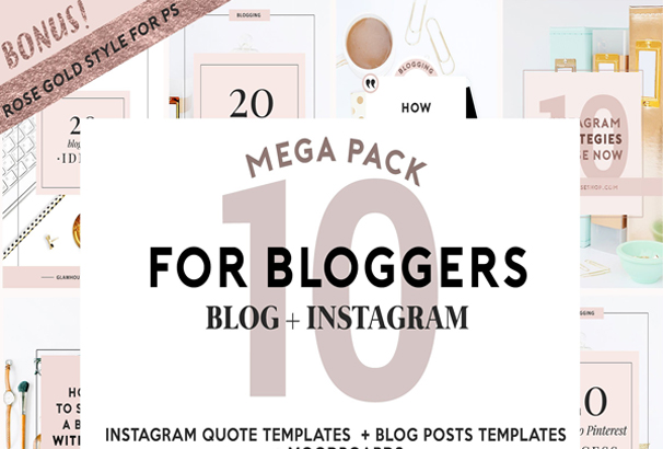 4-bloggers-social-media-rose-gold
