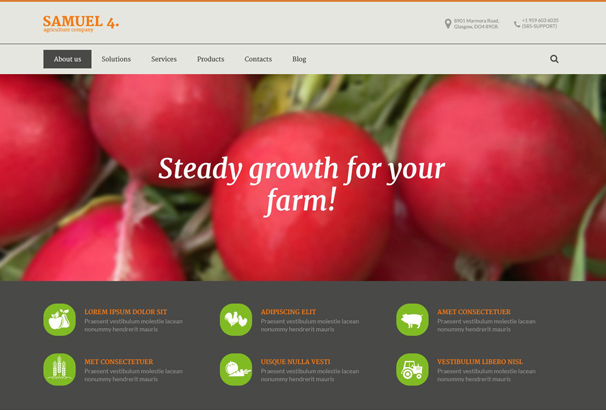 agriculture-company-drupal-template