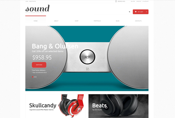audio-store-responsive-woocommerce-theme
