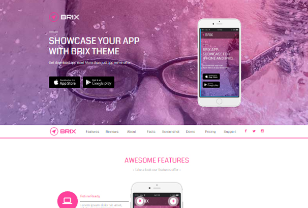 brix-mobile-app-landing-page-muse-template