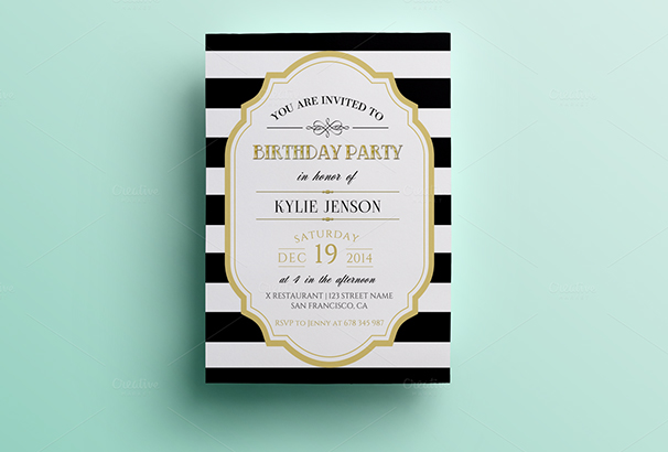 Best Invitation Templates For Weddings Parties - Birthday invitation cards tumblr