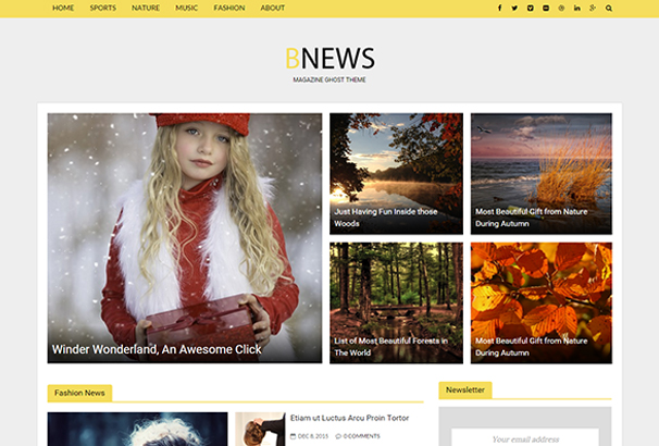 bnews-responsive-news-ghost-theme