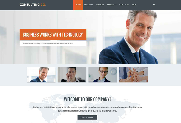 business-drupal-template