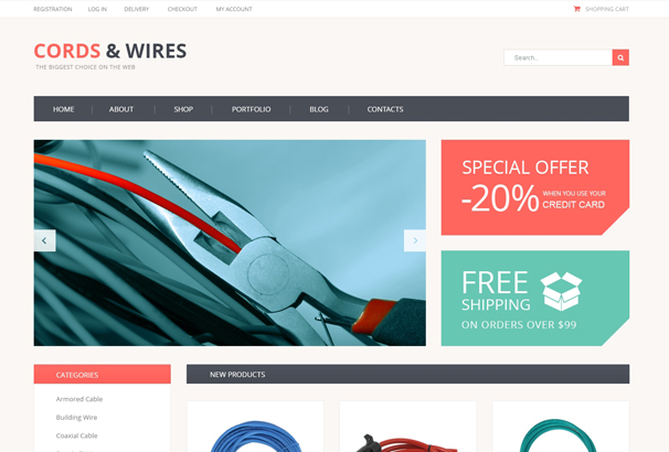 cords-wires-store-woocommerce-theme
