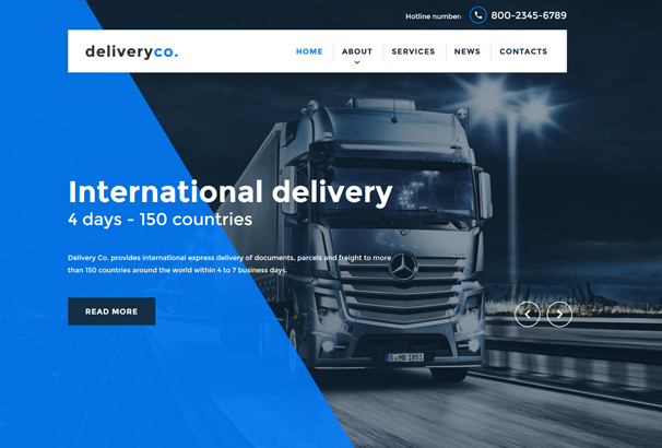 delivery-services-website-template