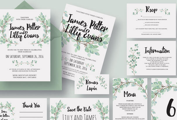 eucalyptus-wedding-invitation-suite