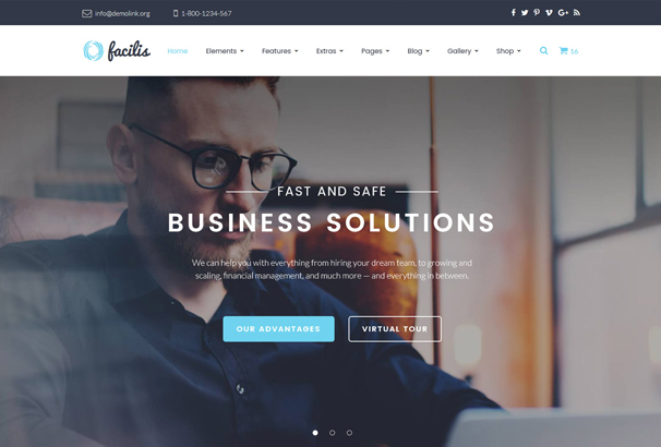 facilis-website-template