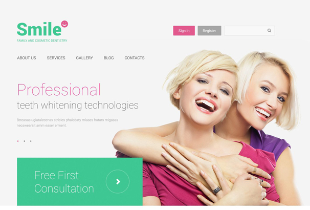 family-dentistry-drupal-template