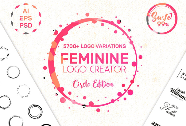 feminine-logo-creator-kit-circle